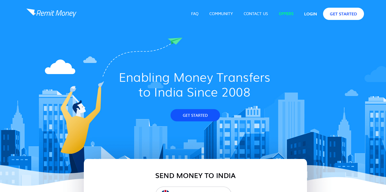How To Send Money From Uk India